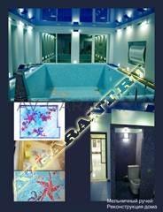 Интерьер и отделка бассейна
