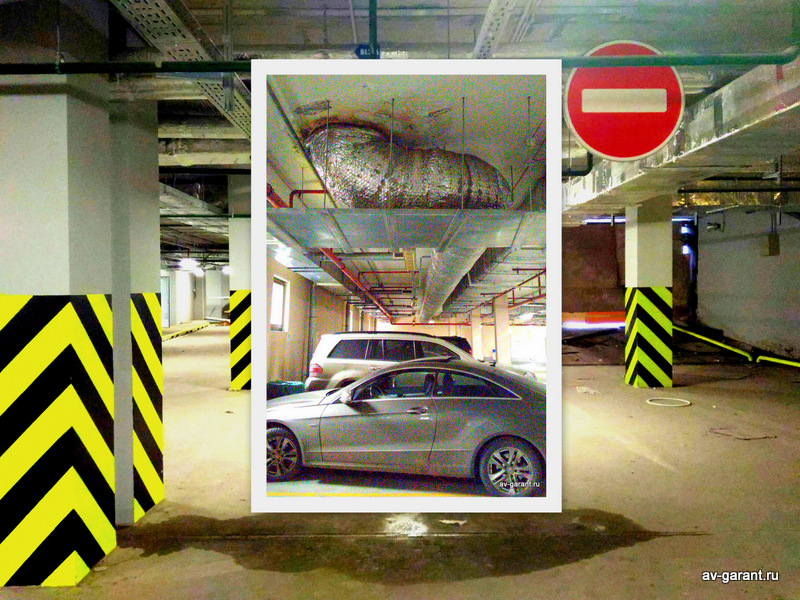 poisk protechek parkinga